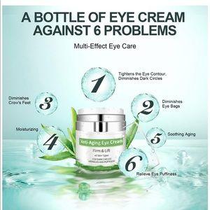 Anti Aging Eye Cream Dark Circles Puffiness Wrinkl
